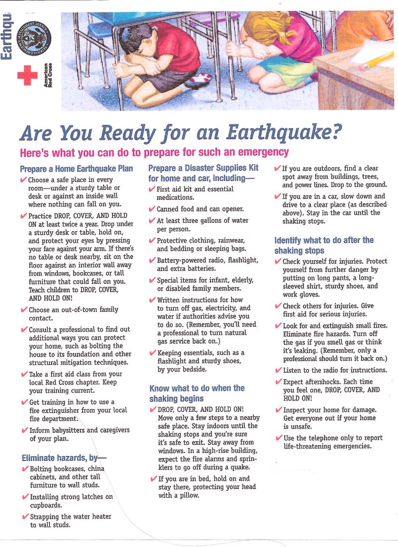 worksheet Emergency Preparedness Worksheet emergency preparedness getting prepared for an earthquake go to the second page of are you ready a worksheet help get just do it