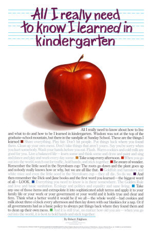 LearnedinKindergarten