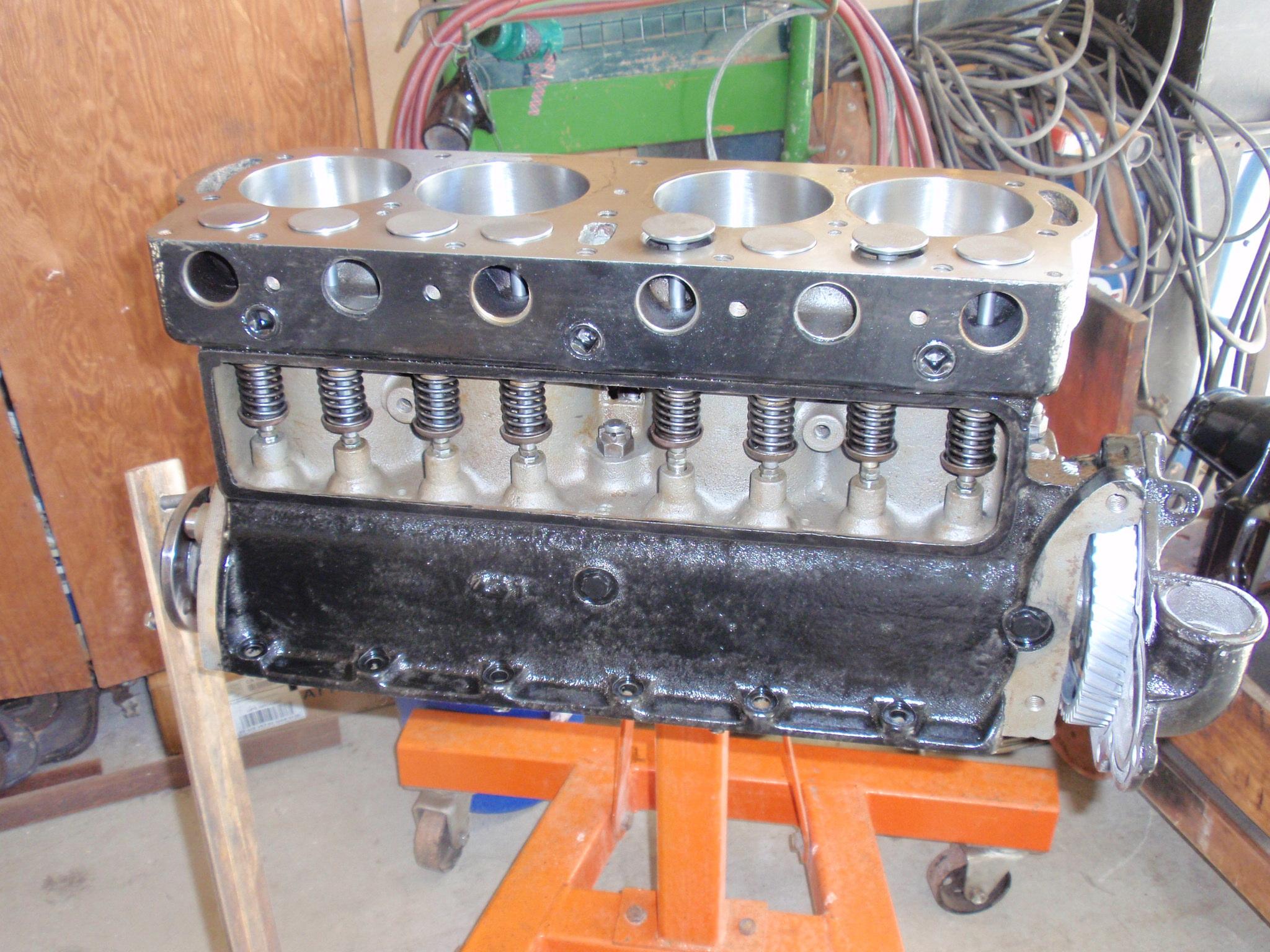 model t engine block