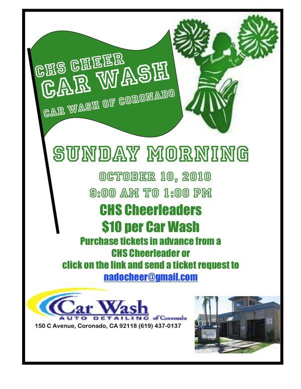 Letter to the editor coronado common sense chs cheer carwash flyer october 2010 altavistaventures Gallery