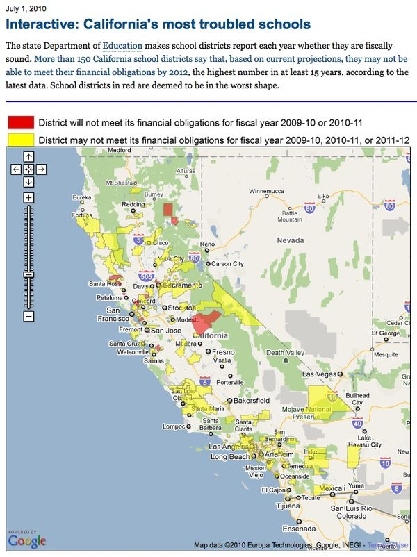 School Districts In California Map.Many California School Districts Struggling With Budgets Coronado
