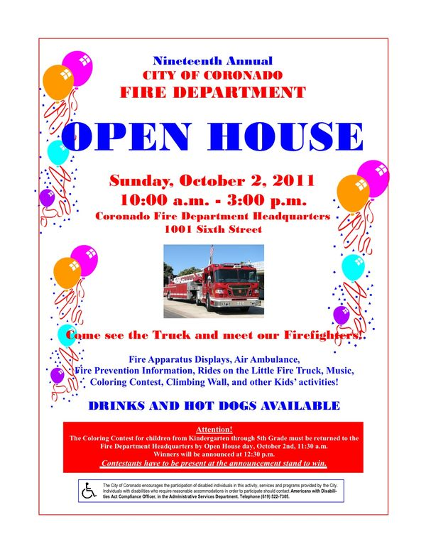open house letters