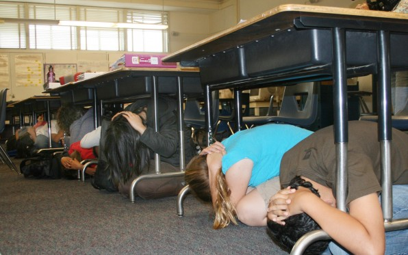 ShakeOut Drill