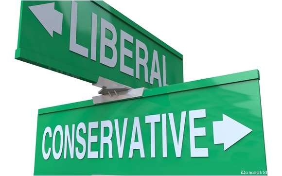 Liberal:conservative