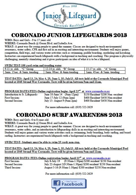 Junior Lifeguards