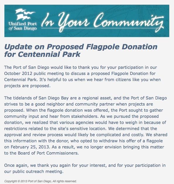 Flagpole Update