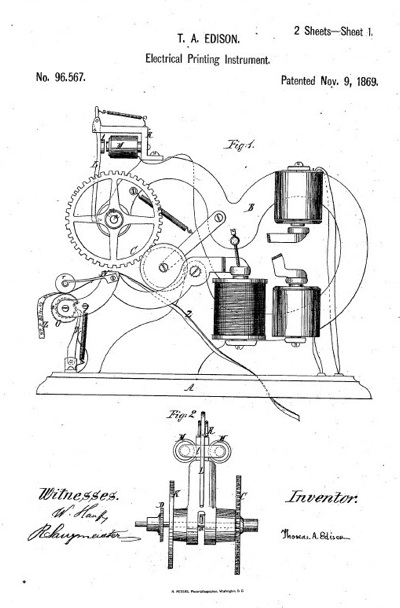 Thomas Edison invention