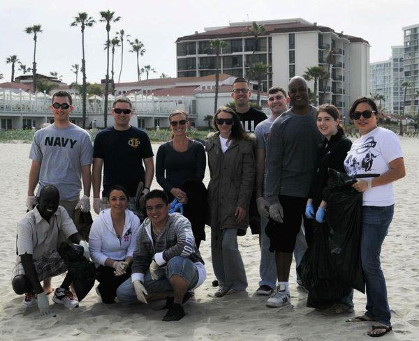 Coronado Beach Cleanup