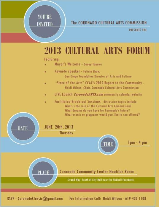 Cultural Arts Forum