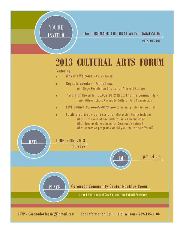 CAC - Arts Forum Invite
